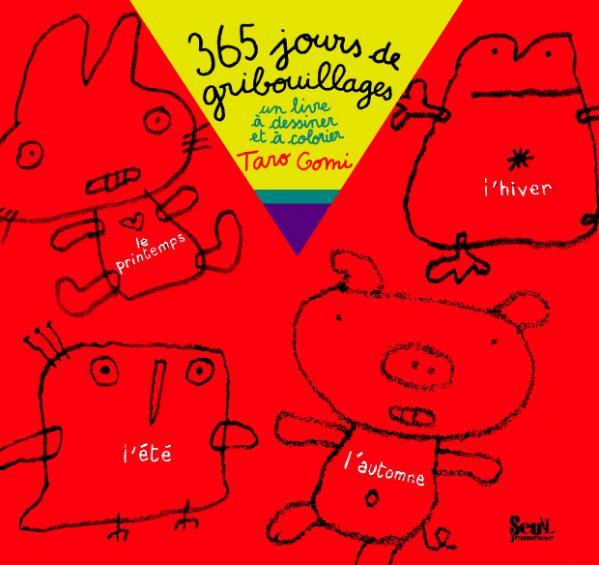 Couverture de l'ouvrage 365 Jours de gribouillages