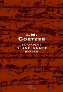 Couverture de l'ouvrage Journal d'une année noire