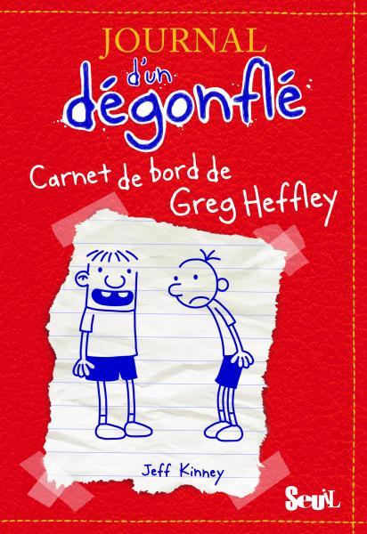Couverture de l'ouvrage Carnet de bord de Greg Heffley