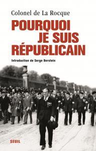 Couverture de l'ouvrage Pourquoi je suis républicain