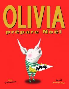 Couverture de l'ouvrage Olivia prépare Noël