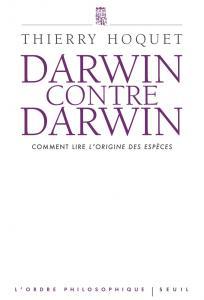 Couverture de l'ouvrage Darwin contre Darwin