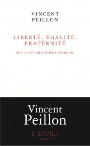 Couverture de l'ouvrage Liberté, égalité, fraternité