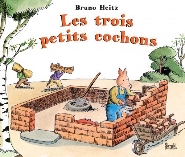 Couverture de l'ouvrage Les Trois Petits cochons