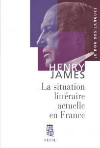 couverture La Situation littéraire actuelle en France
