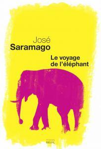 couverture Le Voyage de l'éléphant