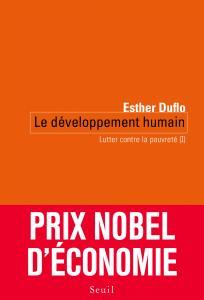 Couverture de l'ouvrage Le Développement humain