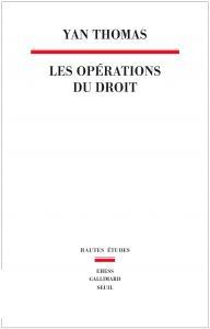 couverture Les Opérations du droit
