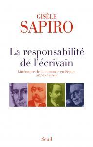 Couverture de l'ouvrage La Responsabilité de l'écrivain