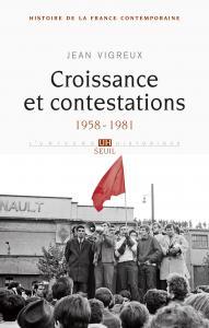 Couverture de l'ouvrage Croissance et contestations