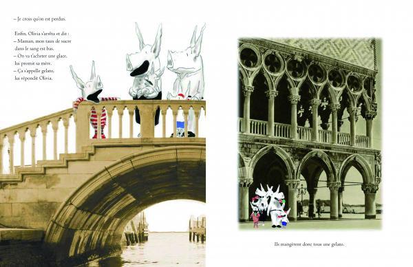 Olivia à Venise