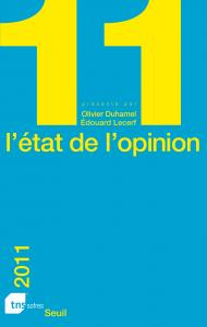 Couverture de l'ouvrage L'État de l'opinion (2011)