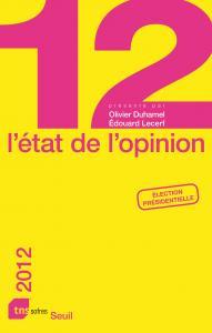 Couverture de l'ouvrage L'État de l'opinion (2012)