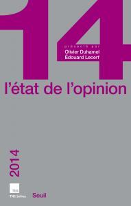 Couverture de l'ouvrage L'Etat de l'opinion 2014