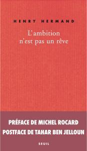 couverture L'ambition n'est pas un rêve