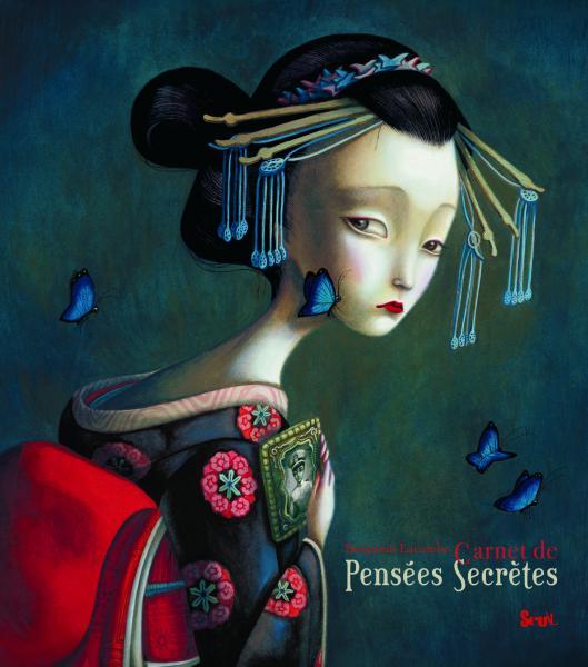 Couverture de l'ouvrage Carnet de pensées secrètes