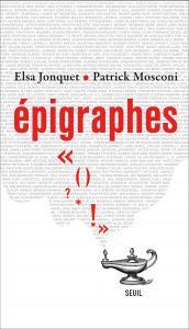 Couverture de l'ouvrage Epigraphes
