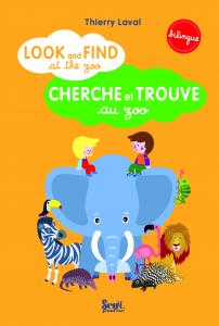 Couverture de l'ouvrage Look and find at the zoo