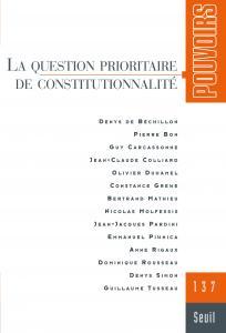 couverture Pouvoirs, n°137