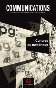 couverture Communications,  n°88. Cultures du numér...
