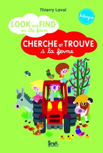 Couverture de l'ouvrage Look and find on the farm