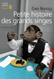 couverture Petite Histoire des grands singes