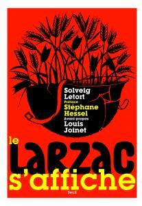 Couverture de l'ouvrage Le Larzac s'affiche