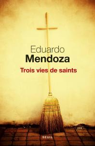 couverture Trois Vies de saints