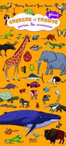 Couverture de l'ouvrage Cherche et trouve géant parmi les animaux