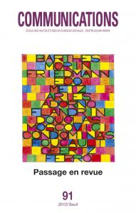 couverture Communications, n°91. Passage en revue. ...