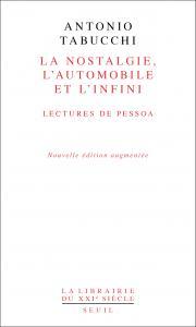 couverture La Nostalgie, l'automobile, l'infini. Le...