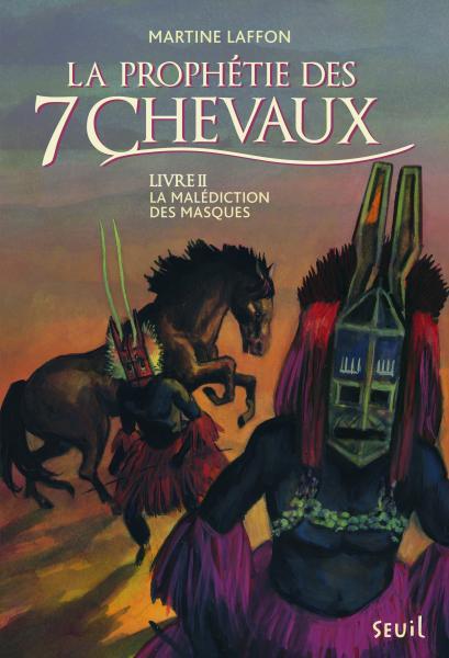 Couverture de l'ouvrage La Malédiction des masques