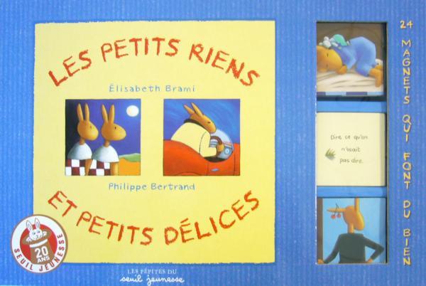 Couverture de l'ouvrage Les petits riens et petits délices