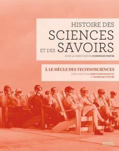 Couverture de l'ouvrage Histoire des sciences et des savoirs, t. 3