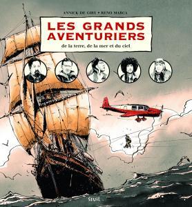 Couverture de l'ouvrage Les Grands Aventuriers