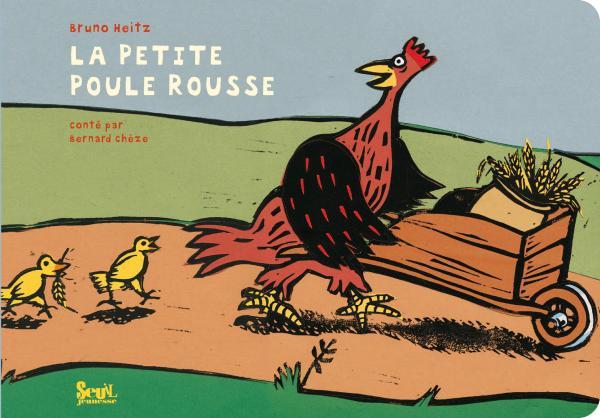 Couverture de l'ouvrage La Petite Poule rousse