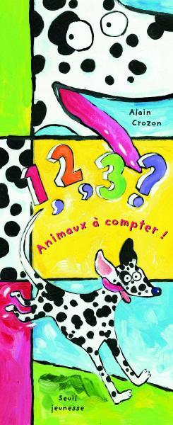 Couverture de l'ouvrage 1, 2, 3, animaux à compter