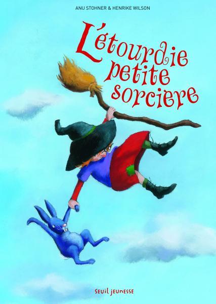 Couverture de l'ouvrage L'Etourdie petite sorcière