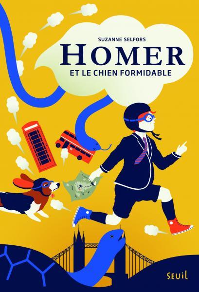 Couverture de l'ouvrage Homer et le chien formidable