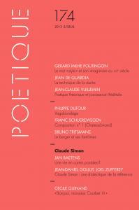 couverture Poétique, n°174