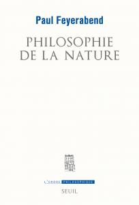 couverture Philosophie de la nature