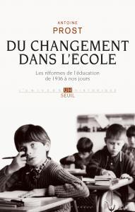 Couverture de l'ouvrage Du changement dans l'école
