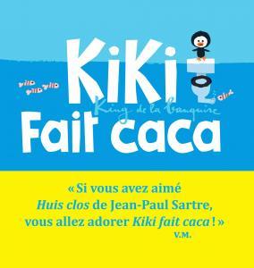 Couverture de l'ouvrage Kiki fait caca