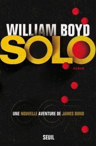 couverture Solo, une nouvelle aventure de James Bond