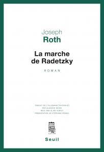 Couverture de l'ouvrage La Marche de Radetzky