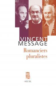 couverture Romanciers pluralistes