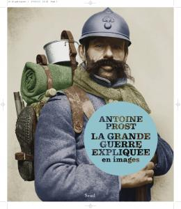 couverture La Grande Guerre expliquée en images
