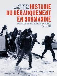couverture Histoire du débarquement en Normandie