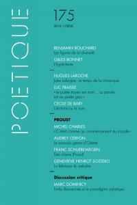 couverture Poétique, n°175