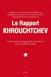 Couverture de l'ouvrage Le Rapport Khrouchtchev